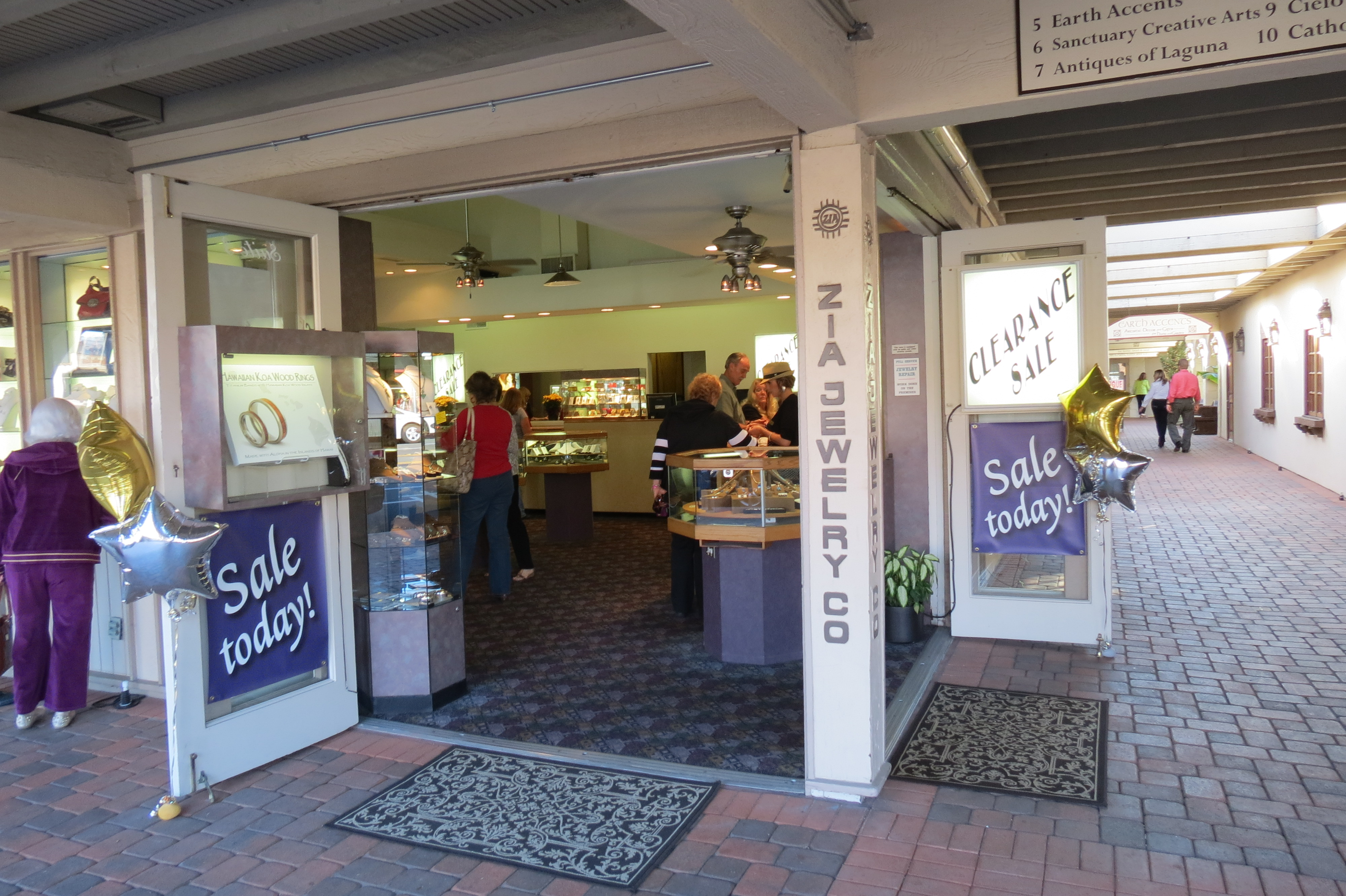 Zia Jewelry in San Juan Capistrano recently celebrated their 35th anniversary. Courtesy photo