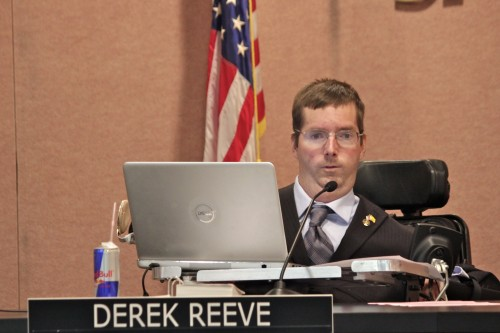 San Juan Capistrano City Councilman Derek Reeve. Photo by Brian Park