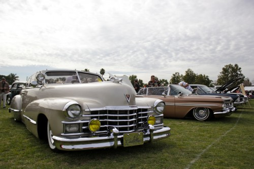 A 1947 Cadillac Coupe Convertible. Photo by Brian Park