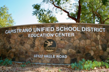 Capistrano Unified School District. File photo