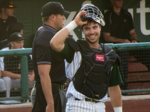 Former JSerra Catholic Lion Austin Hedges has been called up by the San Diego Padres. Photo: Courtesy