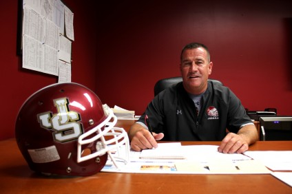 JSerra Catholic head football coach Jim Hartigan has once again been chosen to lead the school's athletic department. Photo by Brian Park