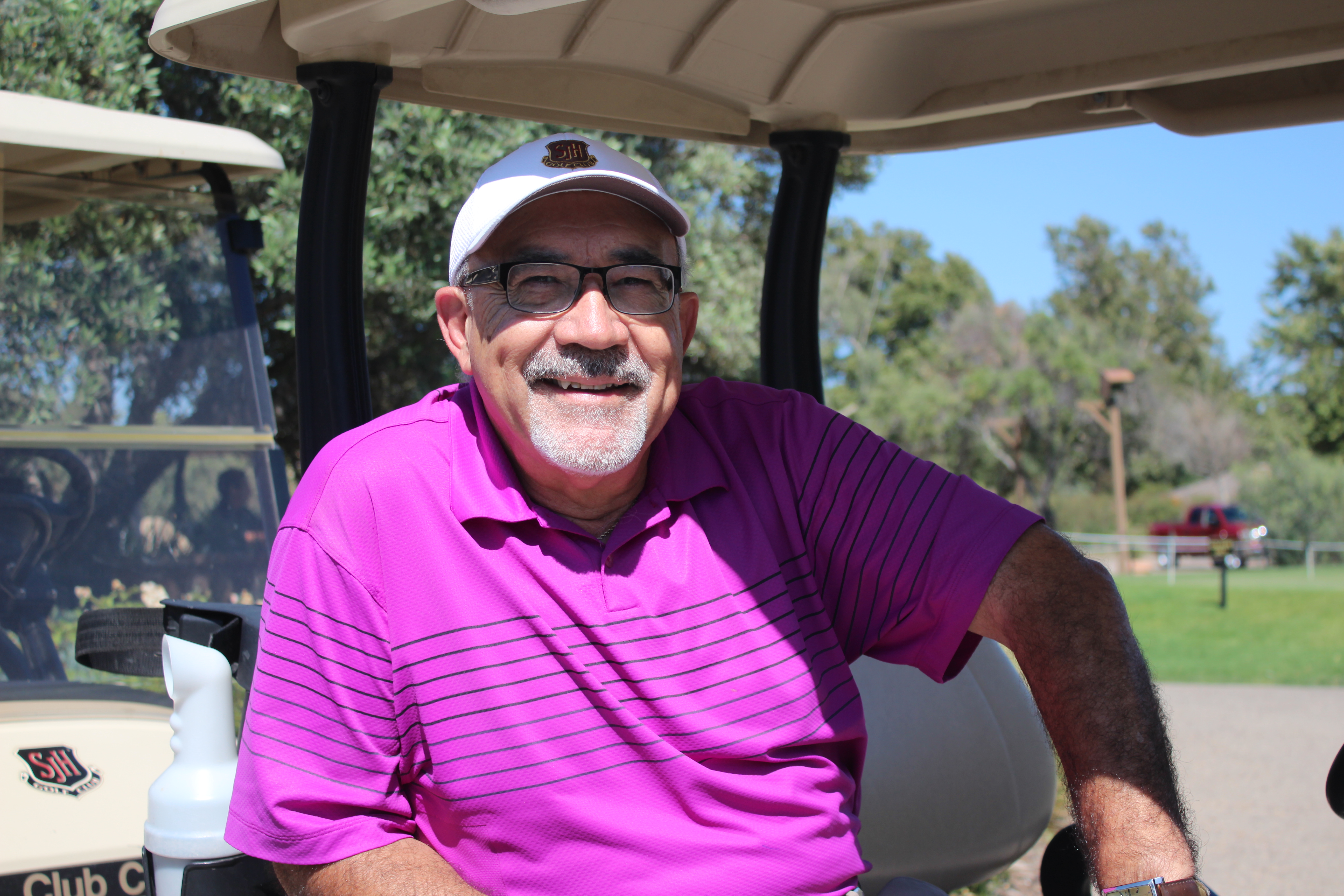 Ray Ricardo has been working at San Juan Hills Golf Club for more than 22 years. He's served as the club pro since 1995. Photo by Steve Breazeale