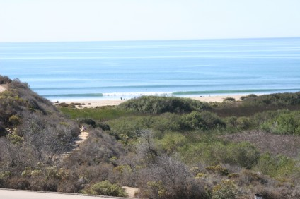 After nearly a decade of questions, the fate of the 241 South Toll Road extension and how it will affect the famed Trestles surfbreak, shown here, may have been sealed by a new agreement between the TCA and Caltrans. Photo by Andrea Swayne