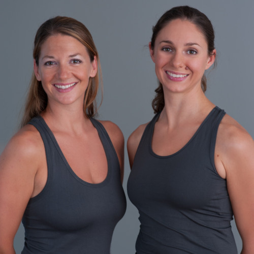 Align Pilates Center co-owners and instructors Nicole Howard (left) and Cara Fraser celebrated their businesses one-year anniversary in October. Courtesy photo