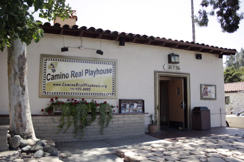 The Camino Real Playhouse is asking for the community's help to possibly buy their building and ensure their future. Photo by Brian Park