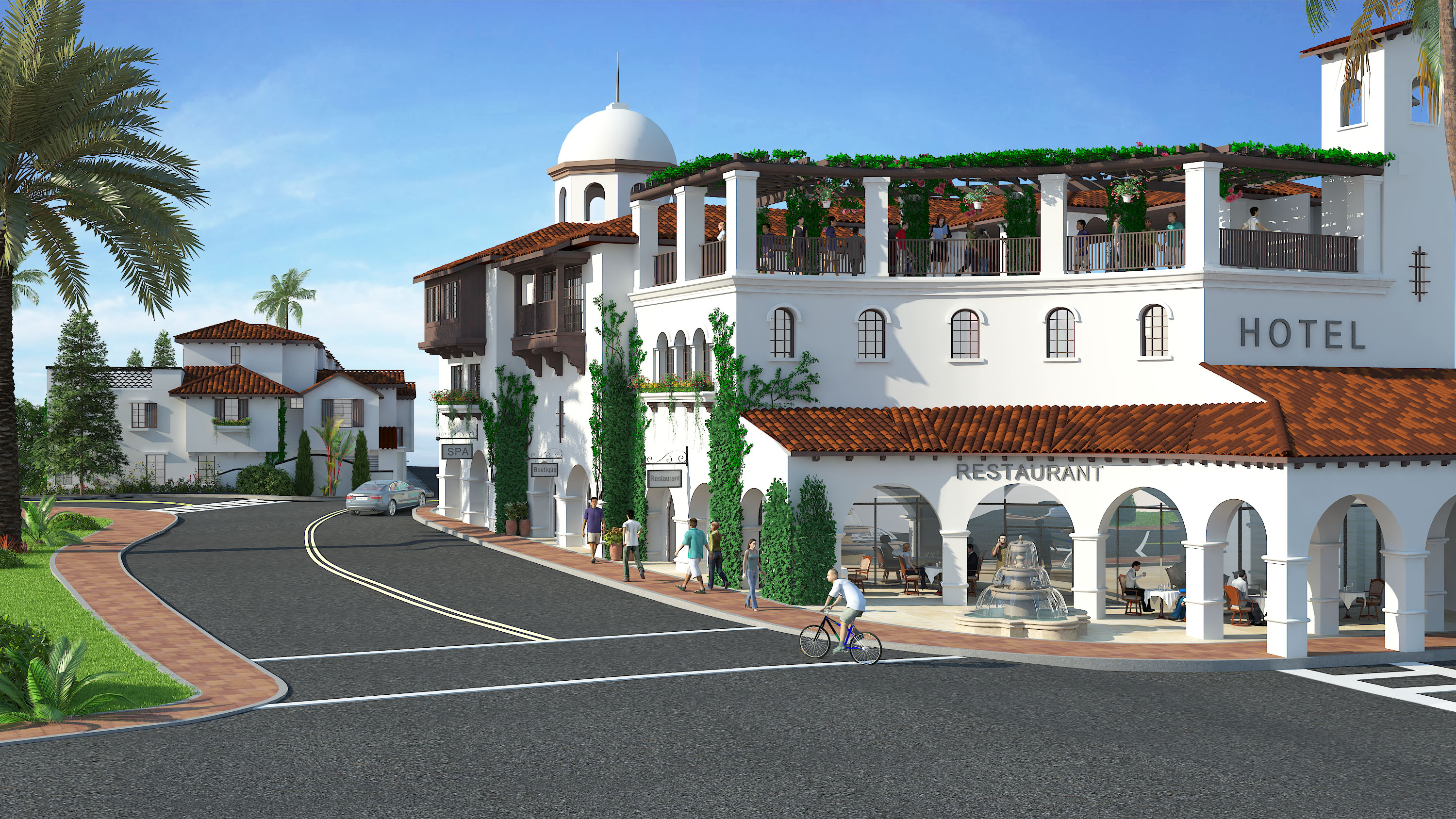 A Previous Rendering Of The Proposed San Juan Hotel Villas Project Which
