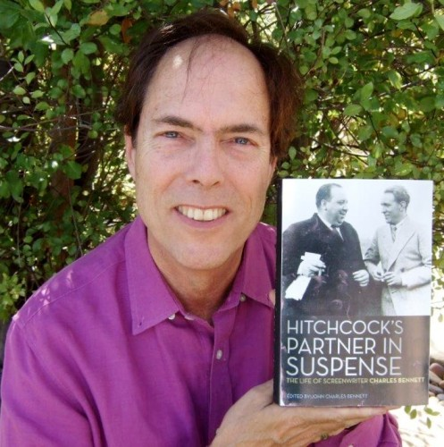 San Clemente resident and St. Margaret's Episcopal School teacher John Bennett helped finish his late father Charles Bennett's memoir, which chronicles Charles' life and career as a screenwriter working alongside Alfred Hitchcock. Courtesy photo