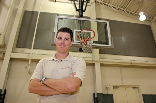Kipp Lyons, the recreation coordinator for the city of San Juan Capistrano's Community Services Department, was one of two men who helped save the life of another who suffered a heart attack while playing basketball at the Community Center on Friday, April 11. Photo: Brian Park