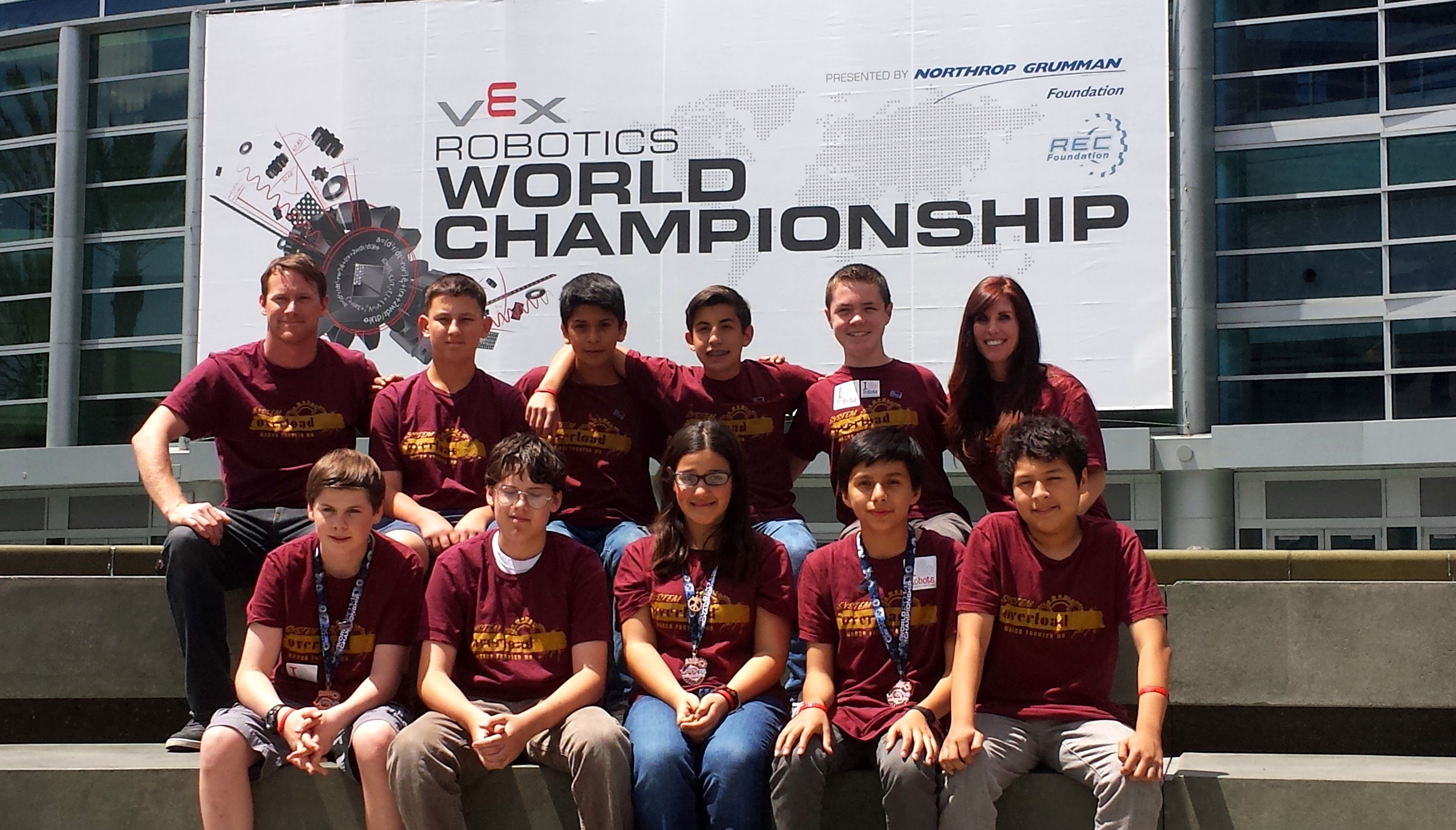 Marco Forster Robotics Team Competes in World Championship | The ...