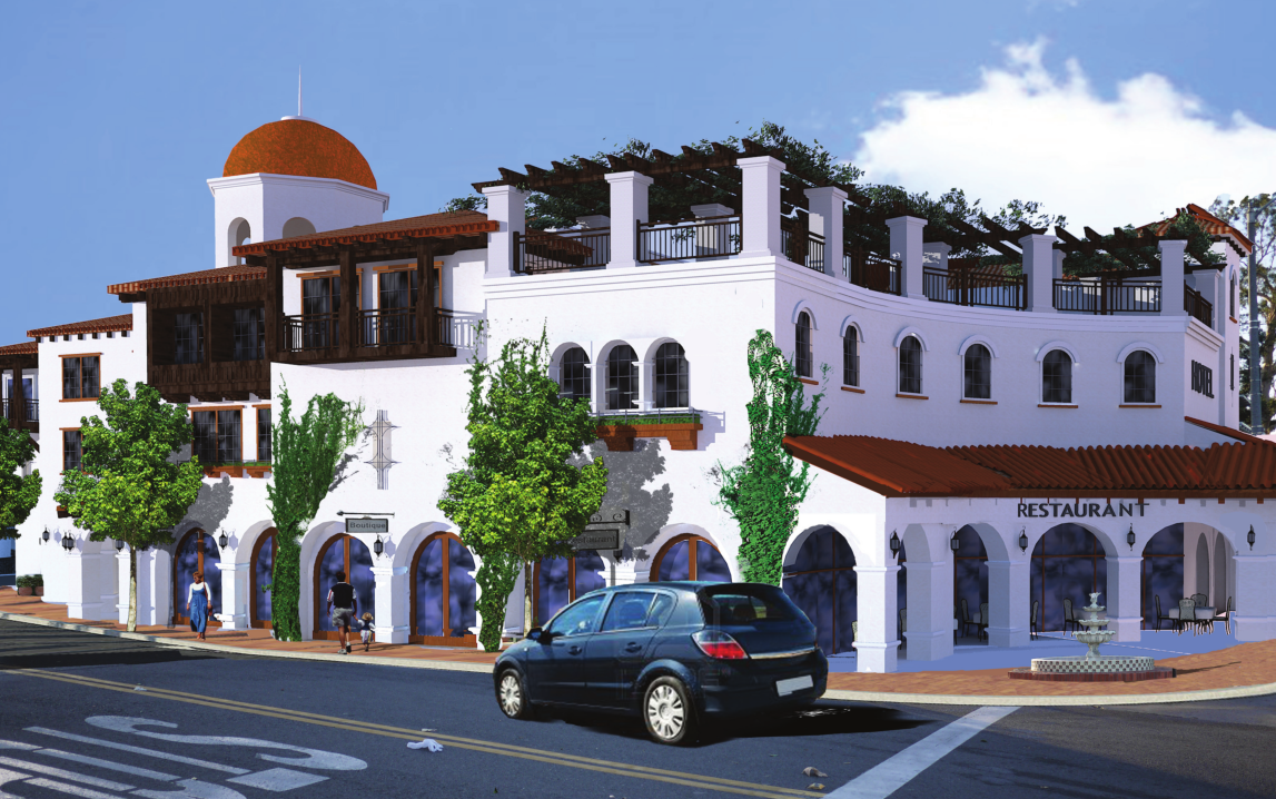 Above Is An Ilration Of What The Proposed San Juan Hotel Villas Project Would Look