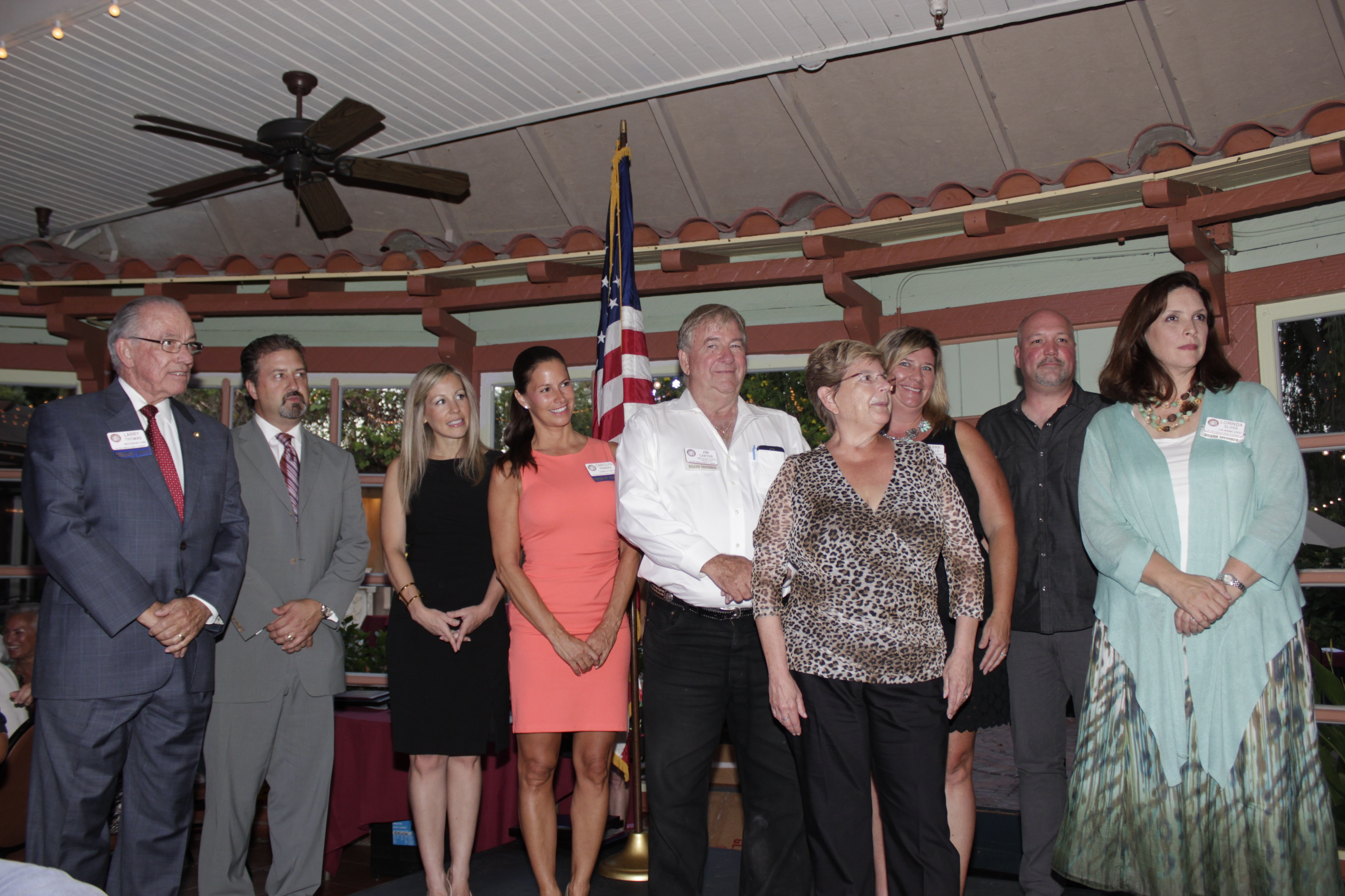The new board of directors for the San Juan Capistrano Chamber of Commerce. Photo: Brian Park
