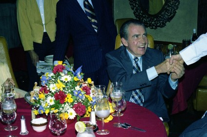 During his time in San Clemente, President Richard Nixon was known to frequent several local eateries, including El Adobe de Capistrano in San Juan Capistrano (shown here) and Olamendi's in Dana Point. Photo courtesy of the Richard Nixon Foundation