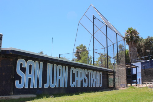 Old Majors Field in San Juan Capistrano has been hosting Little League games for over 50 years. Photo: Steve Breazeale