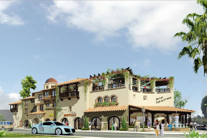 The latest rendering of Urban Village's San Juan Hotel & Villas project. At the San Juan Capistrano City Council's meeting on Tuesday night, a plan to allow homes in downtown failed, halting the project. But the developer said he remains committed. Courtesy of Urban Village