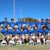 The Saddleback Valley Christian junior high school football team competes in the seven-member Christian Football League. Photo: Steve Breazeale
