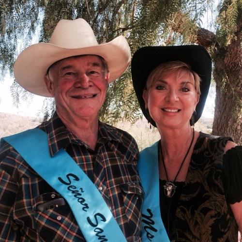 Tom Scott and Beverly Blake have been named Señor San Juan and Ms. Fiesta for the 2015 Fiesta de las Golondrinas season. Photo: Andrea Swayne