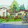 An early artist rendering of the proposed Laguna Glen senior living community in San Juan Capistrano. Courtesy: Spieker Senior Development