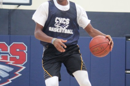 Junior Amazon Nwoye adds size and athleticism to the Capistrano Valley Christian boys basketball team's roster. Photo: Steve Breazeale
