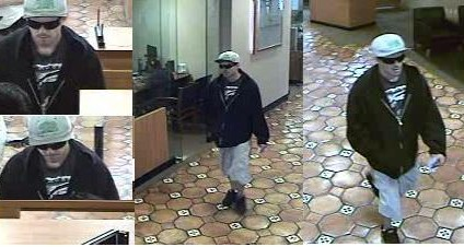 "A man suspected by FBI to be the ""Cal Bear Bandit"" was arrested Dec. 5 in Santa Ana. The suspect's first robbery, according to authorities, occurred at a Chase Bank in San Juan Capistrano in August. Photo: Courtesy of Orange County Sheriff's Department."