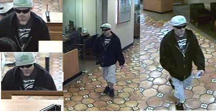 """A man suspected by FBI to be the """"Cal Bear Bandit"""" was arrested Dec. 5 in Santa Ana. The suspect's first robbery, according to authorities, occurred at a Chase Bank in San Juan Capistrano in August. Photo: Courtesy of Orange County Sheriff's Department."""