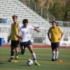 Sophomore Jovanni Almodovar (in white) and the San Juan Hills boys soccer team head to the South Coast League for the first time in program history. Photo: Steve Breazeale