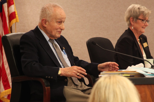 Councilman Roy Byrnes announced his intent to retire at the Jan. 20 San Juan Capistrano Council Meeting. Photo by Allison Jarrell