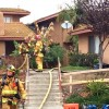 Nine people and one pet were injured Tuesday in a San Juan Capistrano condo fire on the 26500 block of La Zanja. Photo: Courtesy of Orange County Fire Authority