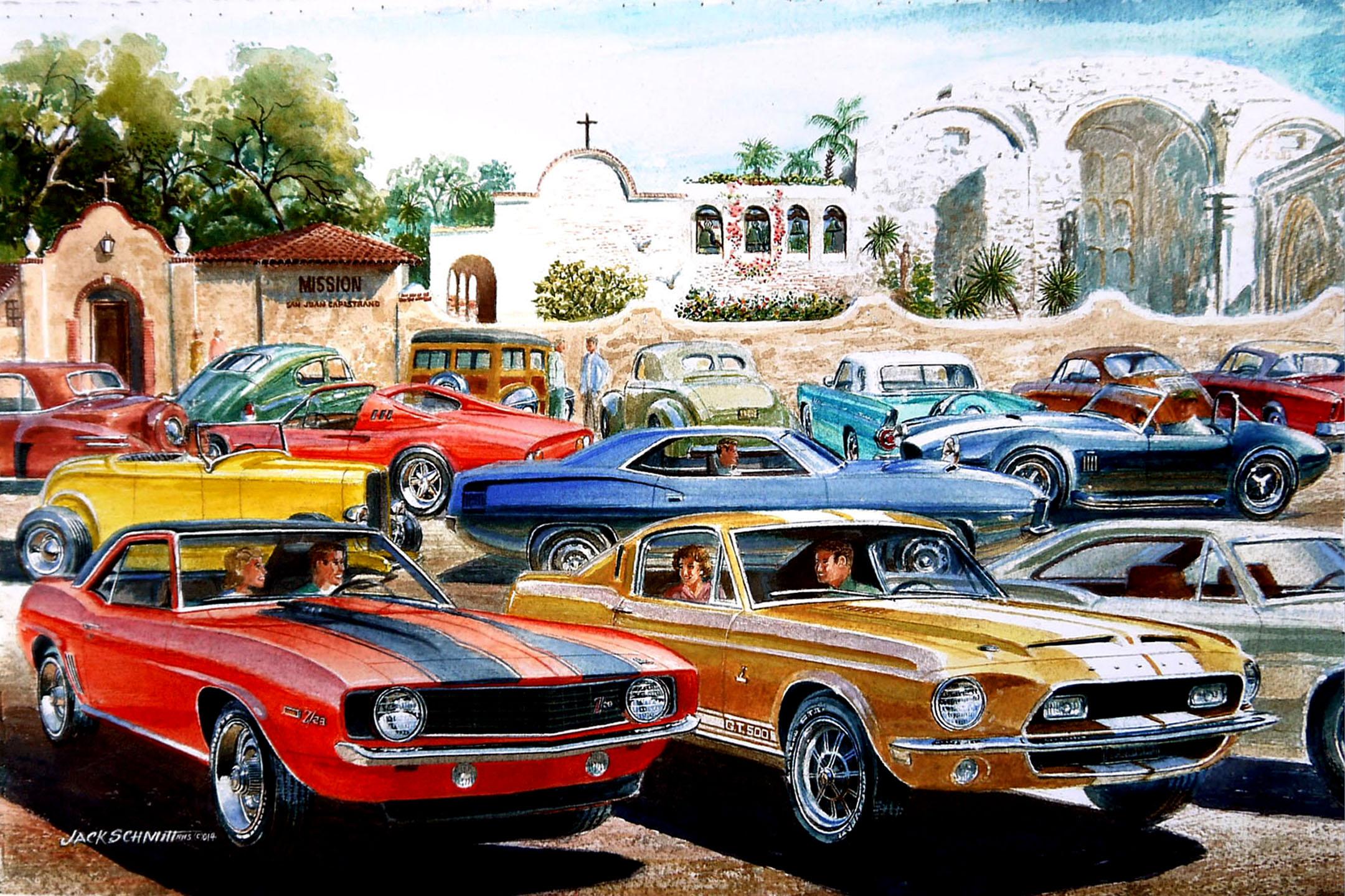 Historic Car Show Returns To San Juan Capistrano The Capistrano