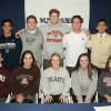 St. Margaret's Episcopal student-athletes on signing day. Photo: Courtesy