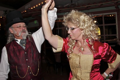 "John ""Fish"" Fischle and Nancy Ingham take to the dance floor. Photo by Brian Park"