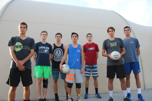 The Saddleback Valley Christian boys volleyball team are the reigning CIF-SS Division 5 champions. Photo: Steve Breazeale