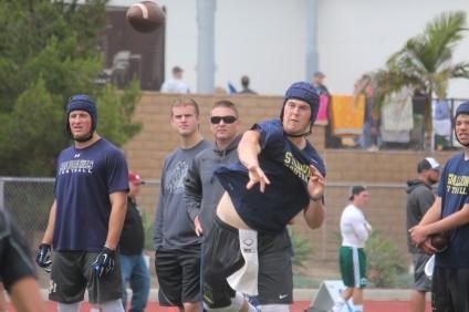 San Juan Hills senior quarterback Patrick O'Brien will compete in the Elite 11 quarterback competition finals July 5-10. Photo: Steve Breazeale