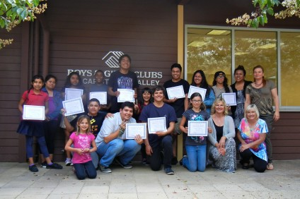 """On June 16, students of the Boys & Girls Clubs of Capistrano Valley graduated from a 10-week pilot program called """"Life after High School."""" Photo: Courtesy of Marianne Taylor"""