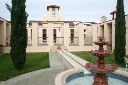 La Sala Auditorium and Courtyard at the San Juan Capistrano Library. File photo