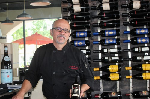 Owner Sebastian Crivello aims to provide great food, friendly service and a friendly atmosphere at the new Crivello's Italian Bistro in San Juan. Photo: Alison Shea