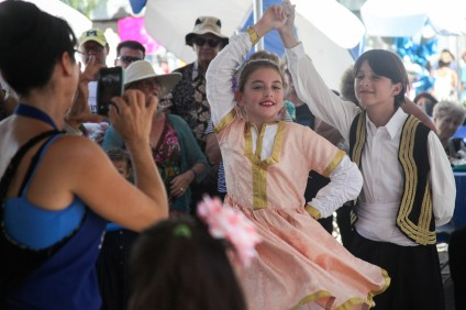 The annual San Juan Capistrano Greek Festival, hosted by Saint Basil Greek Orthodox Church, took place Sept. 25-27. Photo: Allison Jarrell