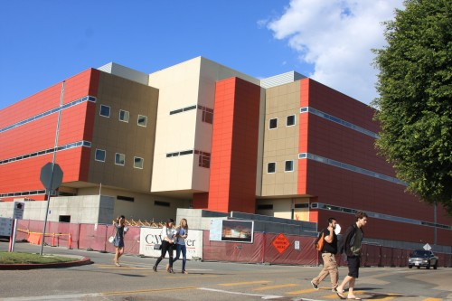 One of the most recent and ongoing improvements at Saddleback College as it moves into its fifth decade of service is a new Sciences Building, now under construction. Photo: Andrea Swayne