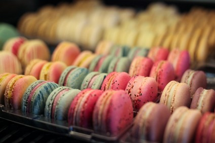 French macarons are among the many authentic sweets and pastries offered at Ô Gourmet French Café & Bakery. Photo: Allison Jarrell