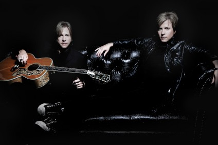 Matthew and Gunnar Nelson will be performing their holiday-themed concert Christmas with the Nelsons at the Coach House in San Juan Capistrano on Nov. 20. Photo: Courtesy