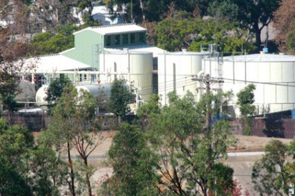San Juan Capistrano's Groundwater Recovery Plant. File Photo