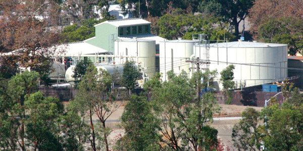 San Juan Capistrano's Groundwater Recovery Plant. File Photo