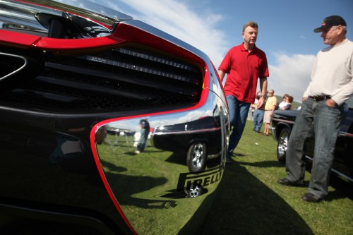 Visitors peruse the display of cars at last year's San Juan Capistrano Car Show, hosted by the SJC Rotary. Photo: Allison Jarrell