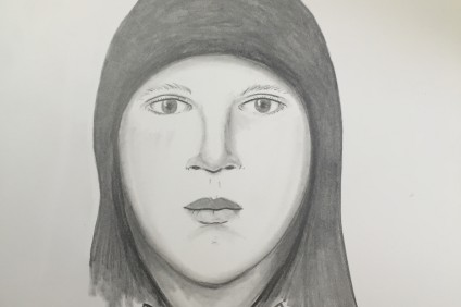 Suspect composite sketch. Courtesy of the Orange County Sheriff's Department