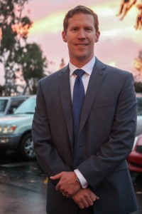 Ben Siegel, 37, of Laguna Beach, began his role as San Juan's new city manager on Feb. 8. Photo: Allison Jarrell