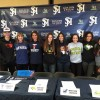 Eight San Juan Hills High School student-athletes took part in a signing day ceremony on campus on Feb. 3. Photo: Courtesy