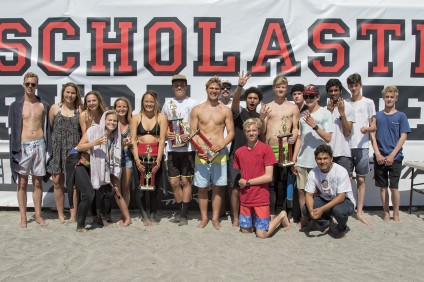 The San Juan Hills surf team won the SSS coastal division state championship on April 17. Photo: Sheri Crummer/SSS