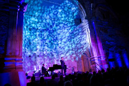 The annual gala features a musical performance in the Great Stone Church. Photo: Carla Rhea