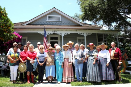 Historical Society members gathered at the O'Neill Museum to celebrate their 50th anniversary in 2013. Photo: Brian Park