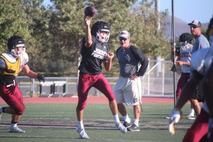 After splitting time at the quarterback position in 2015, JSerra junior Matt Robinson will be the team's starter in 2016. Photo: Steve Breazeale